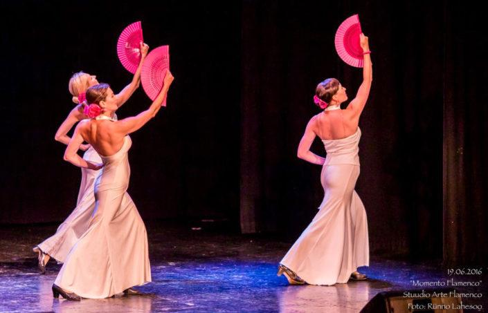 Arte Flamenco IV kursus caracoles etenduses Momento Flamenco (2016)