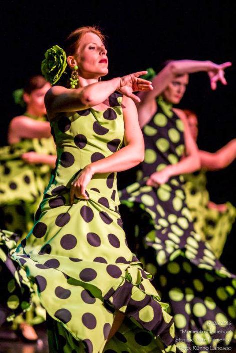 Arte Flamenco V kursus bulerias etenduses Momento Flamenco (2016)