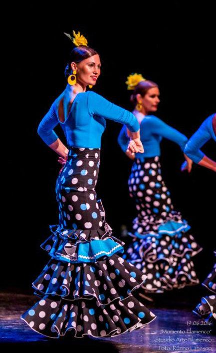 Arte Flamenco VI kursus alegrias etenduses Momento Flamenco (2016)