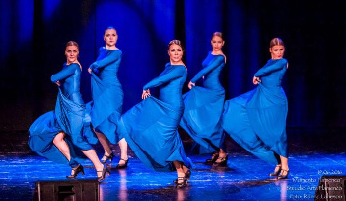 Arte Flamenco esinemisrühm bulerias alegrias Momento Flamenco (2016)