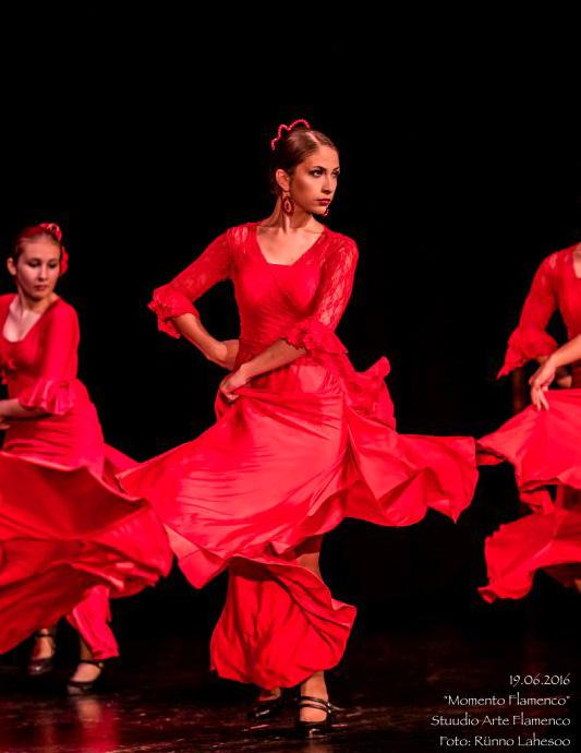 Arte Flamenco esinemisrühm etenduses Momento Flamenco (2016)