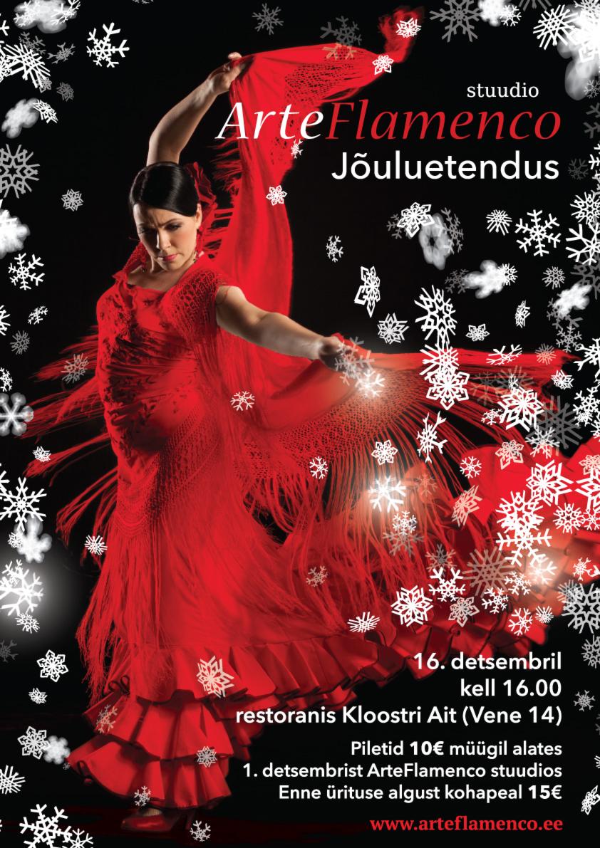 ArteFlamenco jõuluetendus