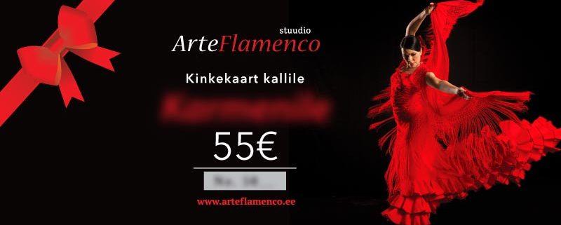 Stuudio ArteFlamenco kinkekaart