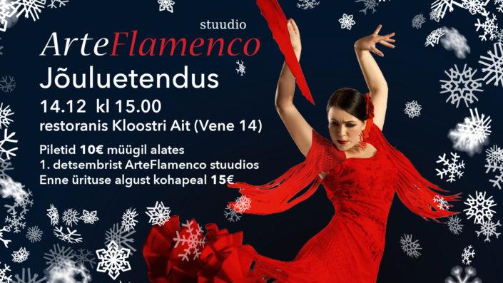 ArteFlamenco jõuluetendus 2019