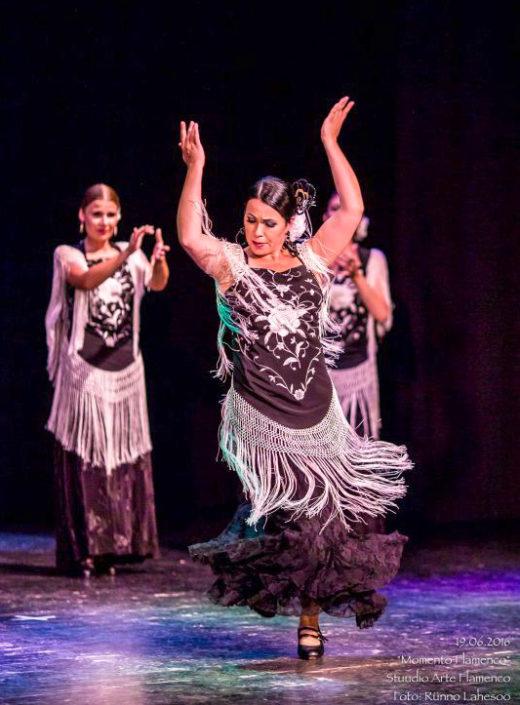 Maria Rääk Arte Flamenco etenduses Momento Flamenco (2016)