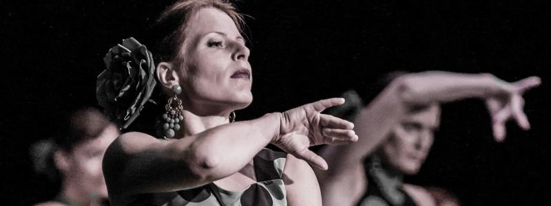 Helin Mari flamenkot tantsimas