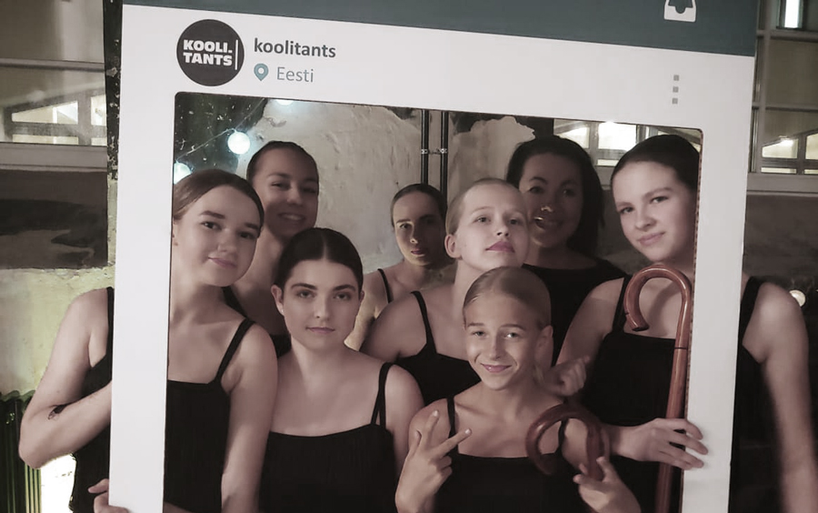Arteflamenko noorterühm Koolitants 2020